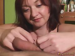 huge cumshot for Maya porn tube video