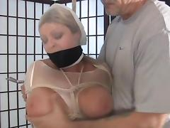 Nylon bondage porn tube video
