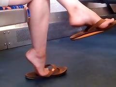 Candid feet #99