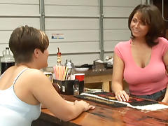 Shayna & Zander Lin in Texas Lesbian Dancer Stories #02 porn tube video