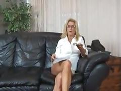 Son, Big Tits, Blonde, Blowjob, Hardcore, Son