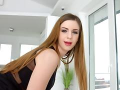 Sultry Stella Cox butt fucked and swallowing that seed porn tube video