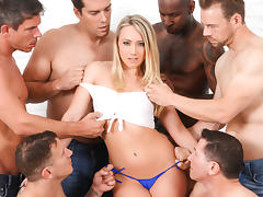 AJ Applegate & Jon Jon & Ramon Nomar & John Strong & Mick Blue & Erik Everhard in AJ Applegate In GB Video tube porn video