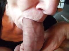 OLD WHORE SUCKS COCK HARD!!!