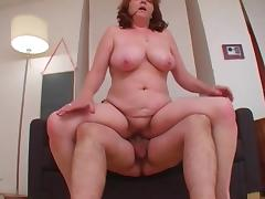 Big old broad gets nailed porn tube video