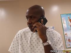 Nurse Sky Rodgers takes big black cock porn tube video