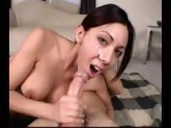 Compilation of Lani Lane videos of hot sucking with cumshots porn tube video