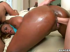 Carmela Mulatto and Tori Taylor - Ass Parade