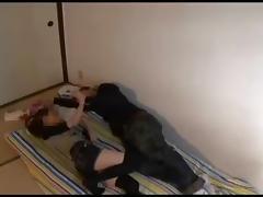 Voyeur couple room - censored porn tube video