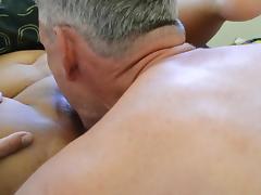 Old man has his fun porn tube video
