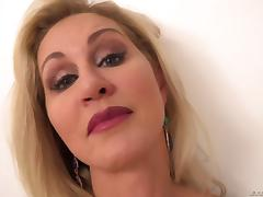 POV milf pounding with a curvaceous slut taking a facial tube porn video