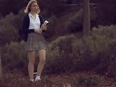 Teacher and the teen in a short skirt fucking hardcore porn tube video