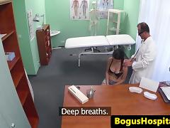 Fingerfucked patient swallows drs medicine porn tube video