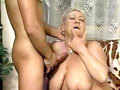 Chubby Granny Bangs Some Guy tube porn video
