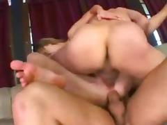 Fuck That Bitch Up Threesome porn tube video