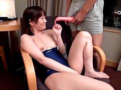 Hottest Japanese slut in Amazing JAV censored Small Tits, College scene