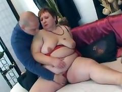 Redhead 40+ fat ass pleases junior neighbour