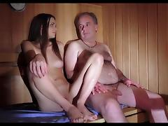 hot sauna with not my dad porn tube video