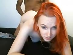 It's no wonder she is a meat magnet! - Interracial