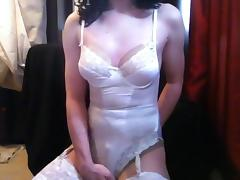 Danni in white for Miss Scarlett porn tube video