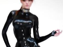 stunner in latex catsuits tube porn video