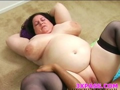 Black chubby bitch fucked tube porn video