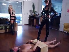 Ball Kicking, BDSM, Blonde, Femdom, Mistress, Penis