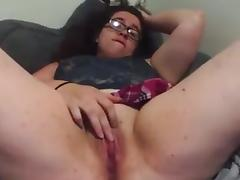 chubby girl cums for us porn tube video