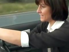 Sexy Milfs Lunchtime Drive For Her Little Bit Of Me Time !