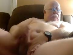grandpa strok ad cum on cam tube porn video