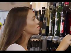 Wine shop tube porn video