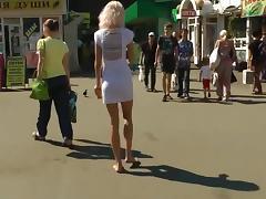 Walk barefoot on Yeltsin Russia porn tube video