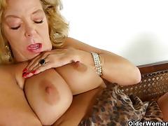Oldies but goldies with Karen Summer and Sandie porn tube video