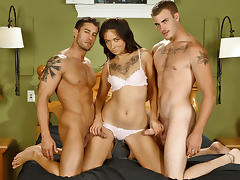 Coco Velvet & Christian Wilde & Cody Cummings in Coco have a double dose of pleasure  XXX Video tube porn video