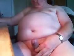 grandpa stroke on cam(no cum) 1 tube porn video