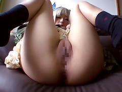 Crazy Japanese chick Airi Sato in Best JAV censored Cunnilingus, Blonde movie porn tube video