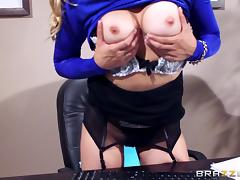 Persuasive gal Caught Her Step Brother Jerking Off pending rough sex. tube porn video