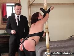 Handcuffs, Anal, Ass Licking, Assfucking, Bound, Choking