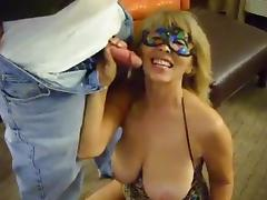 Big tit southern wife likes sucking stranger's cock! porn tube video