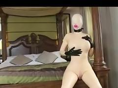 Mannequin Bondage Doll porn tube video