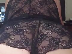 Madam H showing how to ride my thick cock in slow motion