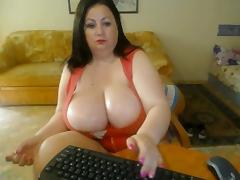 Big breast milf webcam