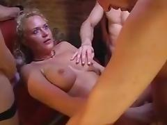 German gangbang at swinger club porn tube video