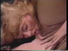 Busty blonde Barbara the Barbarian in this classic porn clip