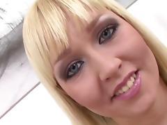 Blonde Cutie Gets Her Ass Gaped