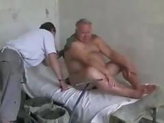 Gorgeous Grandpa enjoys wellness