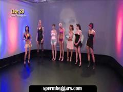 Hot sluts attending bukkake orgy tube porn video