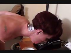 Tied angry girlfriend hops gagtalks to boyfriend tube porn video