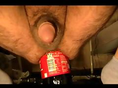 Bottle, Anal, Assfucking, Bottle, Insertion