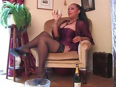 Champagne, Champagne, Feet, Latex, Mature, Big Natural Tits